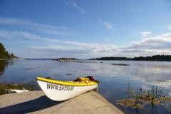 Kayak de mer en Baltique
