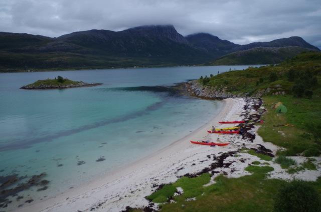 Kayak de mer à Tromso en Norvege