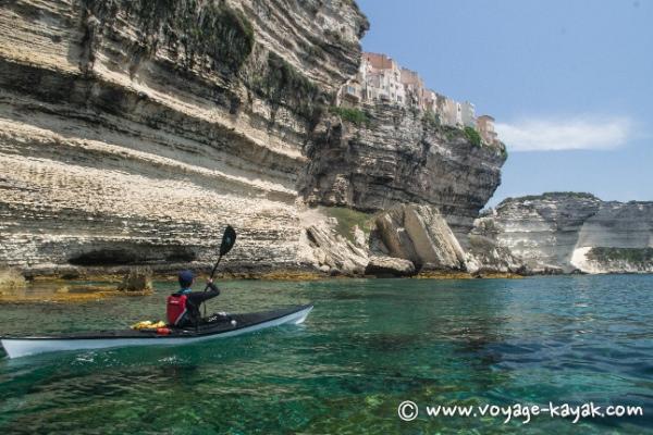 kayak de mer Bonifacio