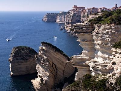 Les falaises de Bonifacio