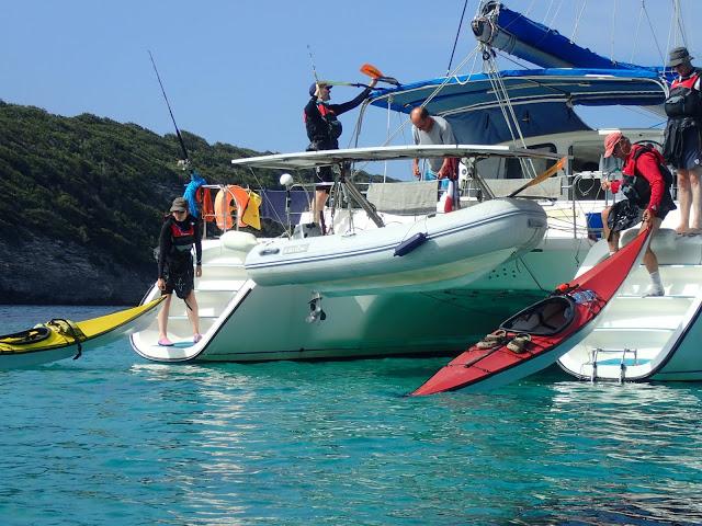 Catamaran Kayak Corse