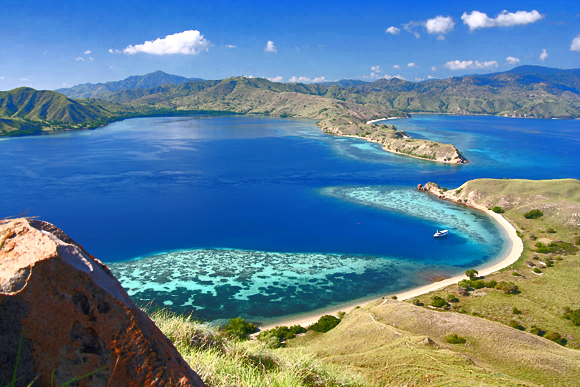 Sea kayak  in Komodo Indonesia
