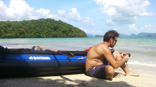 Sea Kayak on Andaman sea