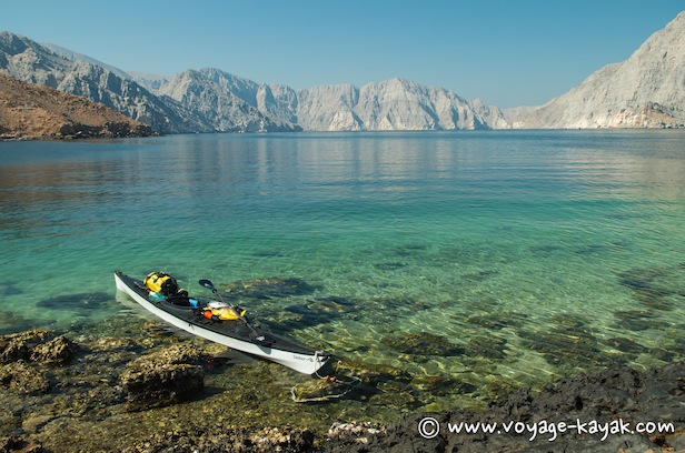 Sea kayaking Oman Musandam