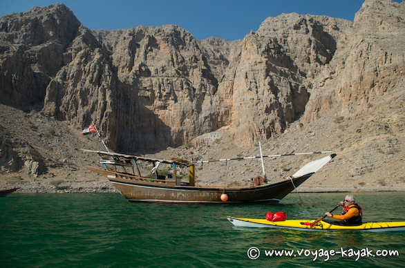 sea Kayak fjord Musandam