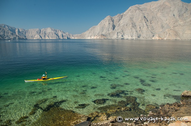 Sea kayaking Oman